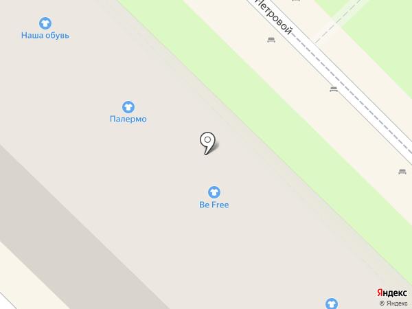 Палермо на карте Туапсе