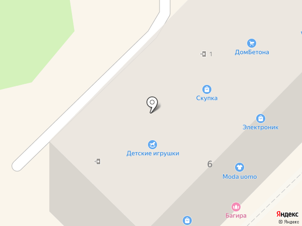 Багира на карте Туапсе