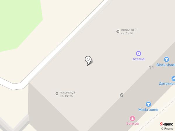 Цветочный магазин на карте Туапсе