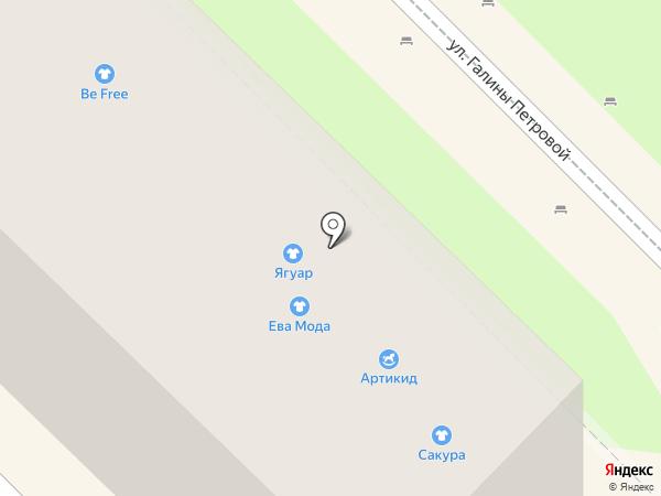 Сакура на карте Туапсе