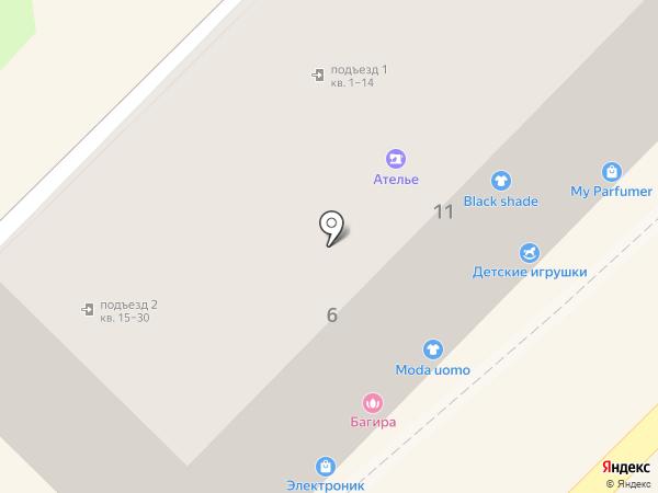 Кофейная Кантата на карте Туапсе