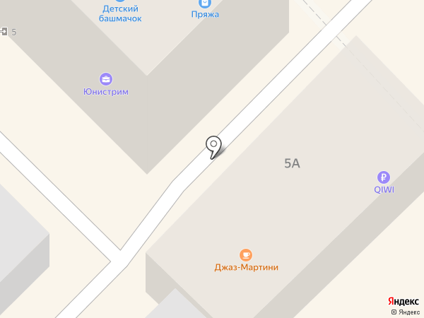 Джаз-Мартини на карте Туапсе
