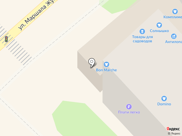 Солнышко на карте Туапсе