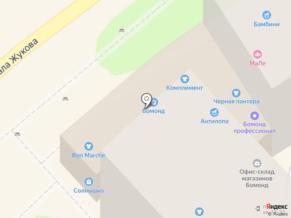 Соблазн на карте Туапсе