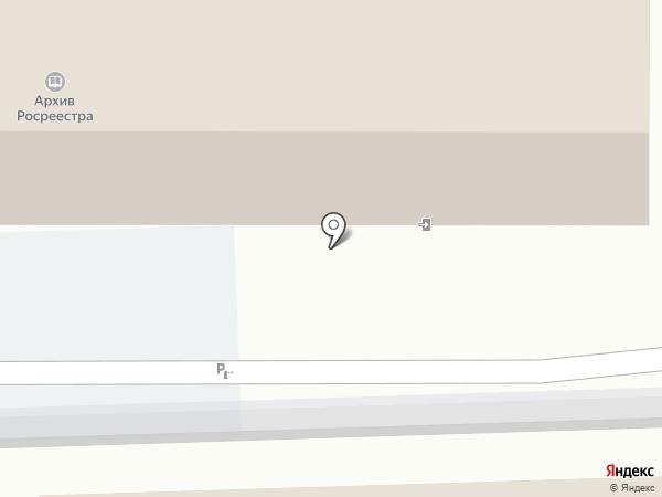 Архив Федеральной службы государственной регистрации, кадастра и картографии на карте Краснодара