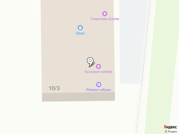 Антошка на карте Краснодара