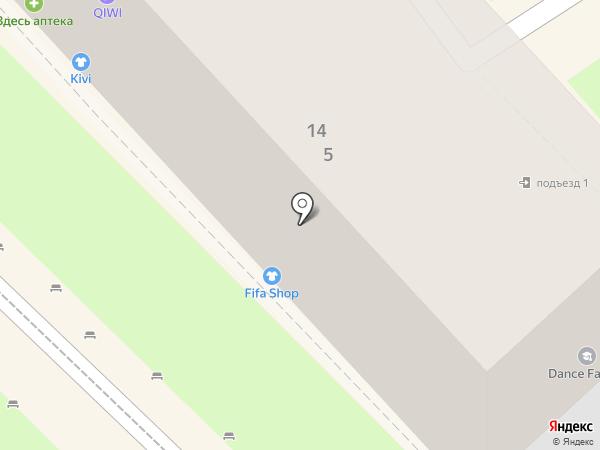Виктория на карте Туапсе