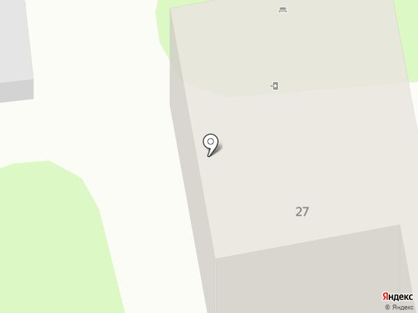 Туапсинская станция юных техников на карте Туапсе