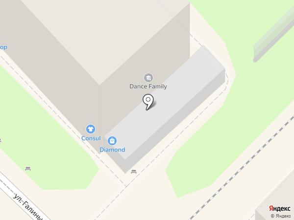 Diamond на карте Туапсе
