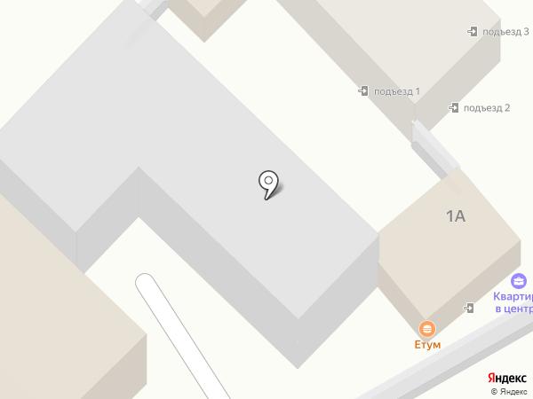 Етум на карте Туапсе