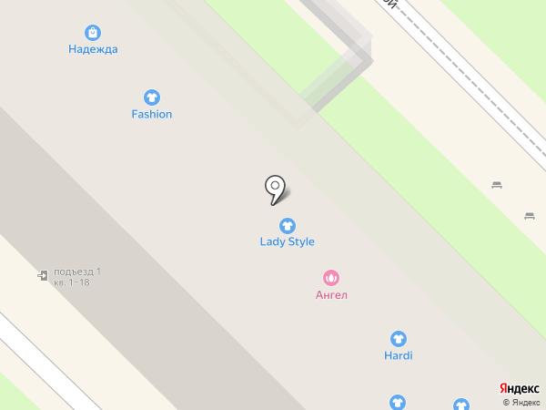 Магазин молодежной одежды на карте Туапсе