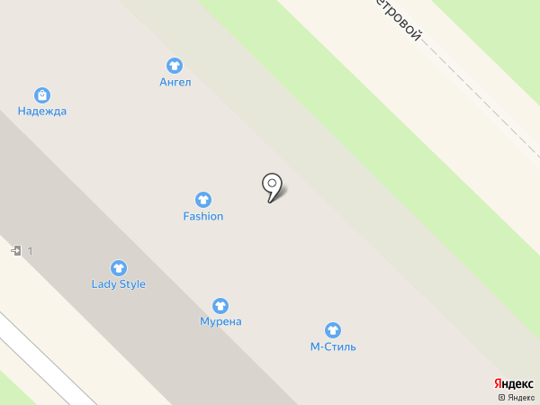 Мурена на карте Туапсе