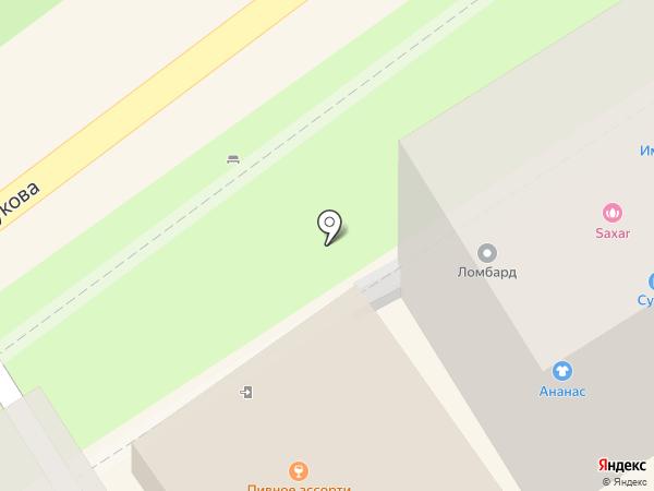 Росбанк, ПАО на карте Туапсе