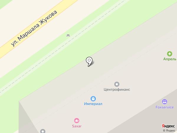 Реал на карте Туапсе