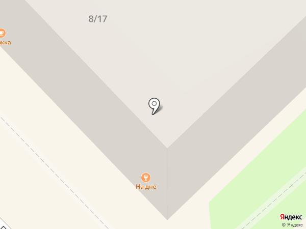 На дне на карте Туапсе