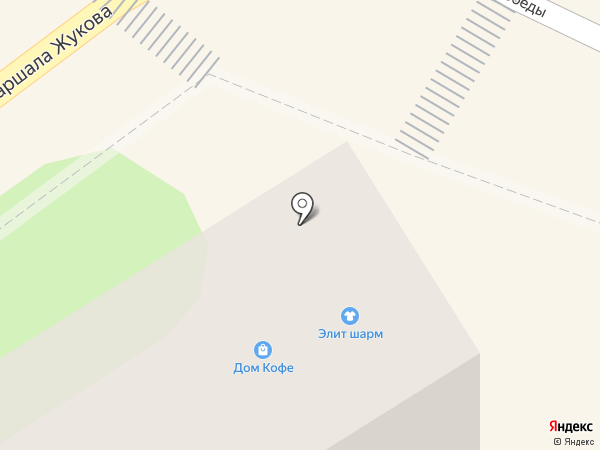 Элит Шарм на карте Туапсе