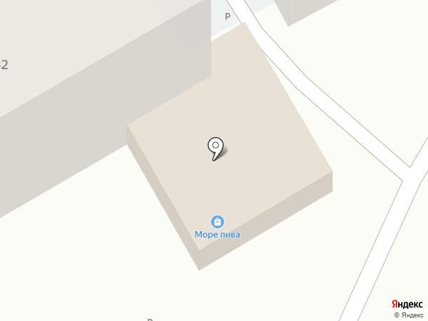 Слоненок на карте Туапсе