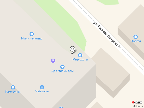 МТС на карте Туапсе
