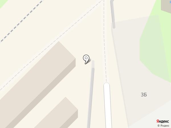 Южный на карте Туапсе
