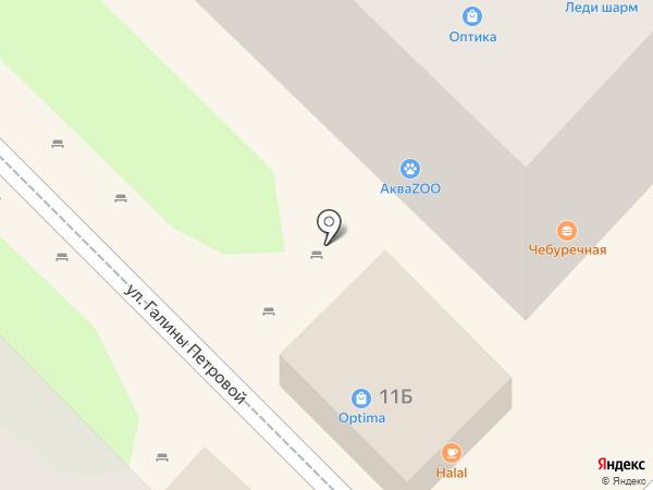 Optima на карте Туапсе