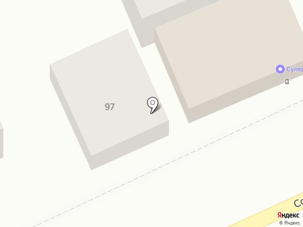 Калина на карте Краснодара