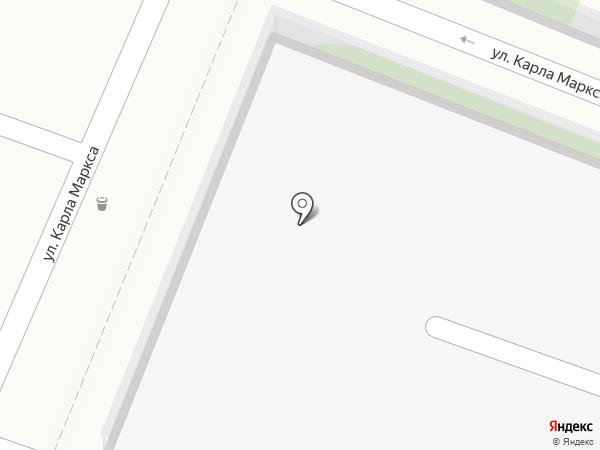 Автостоянка на карте Туапсе
