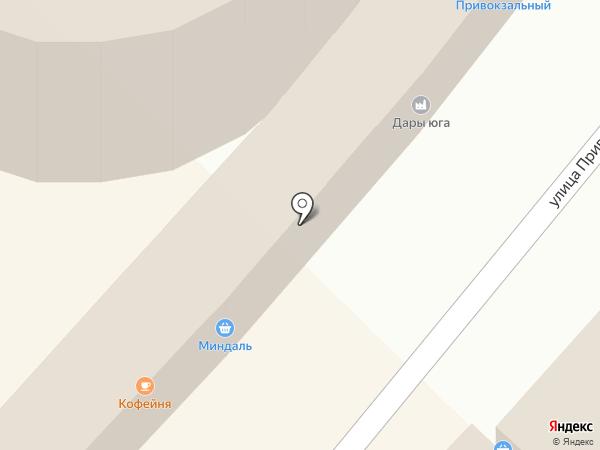 Монро на карте Туапсе