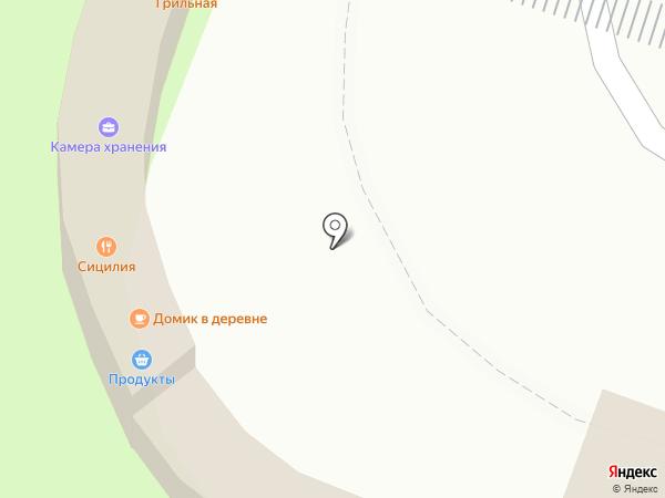 Детский мир на карте Туапсе