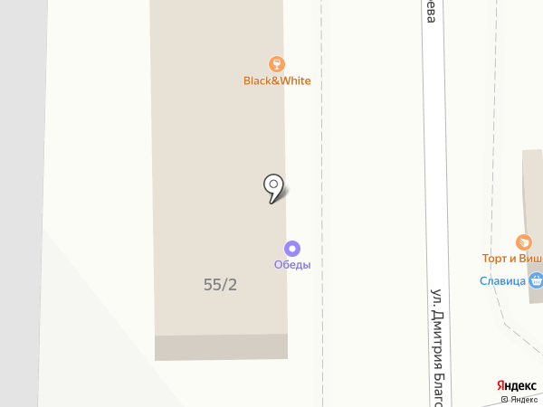 Бодрисар на карте Краснодара