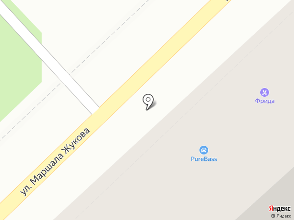 Кит Финанс, ПАО на карте Туапсе