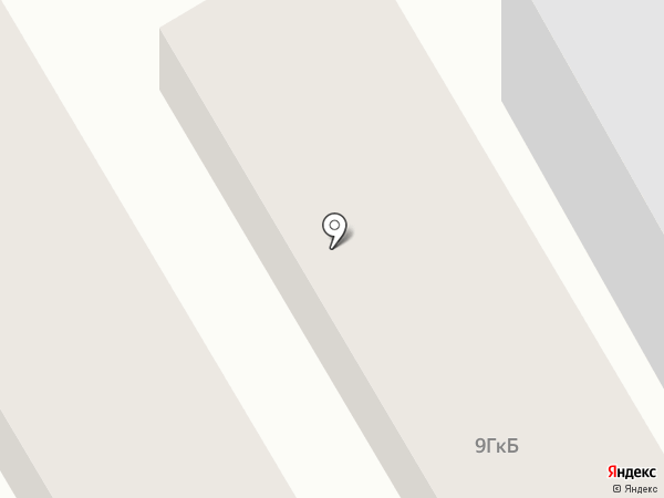 Тёплый дом, ЖСК на карте Туапсе