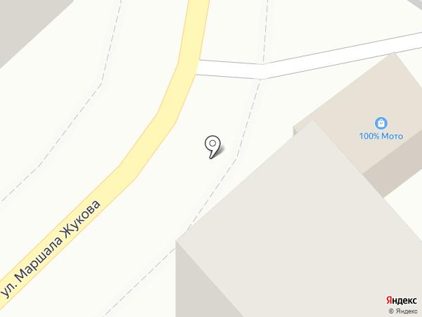 Сто мото на карте Туапсе