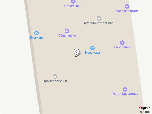 Промсервис Краснодар на карте Краснодара