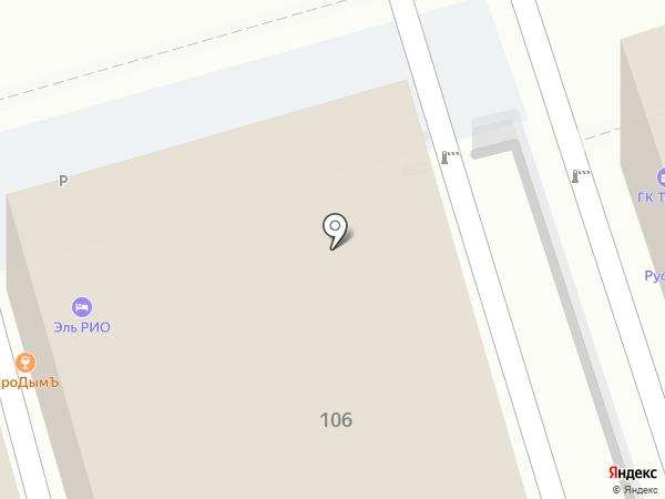 Rooms & Lounge на карте Краснодара