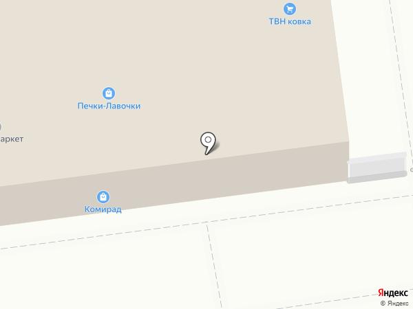 Золотой телец на карте Краснодара