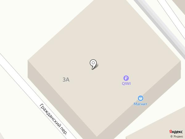 Ермолино на карте Туапсе