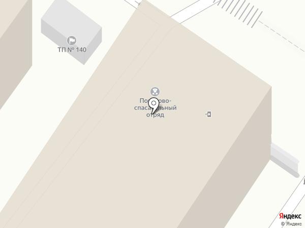 Туапсинский поисково-спасательный отряд МЧС России на карте Туапсе