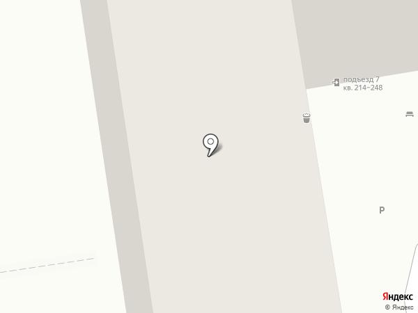 Метида на карте Краснодара
