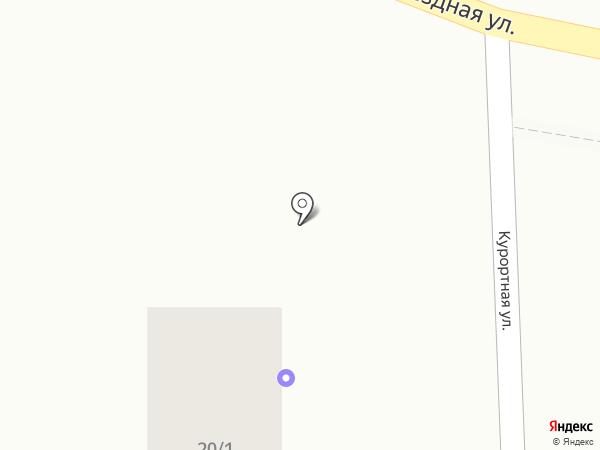Чайка на карте Туапсе