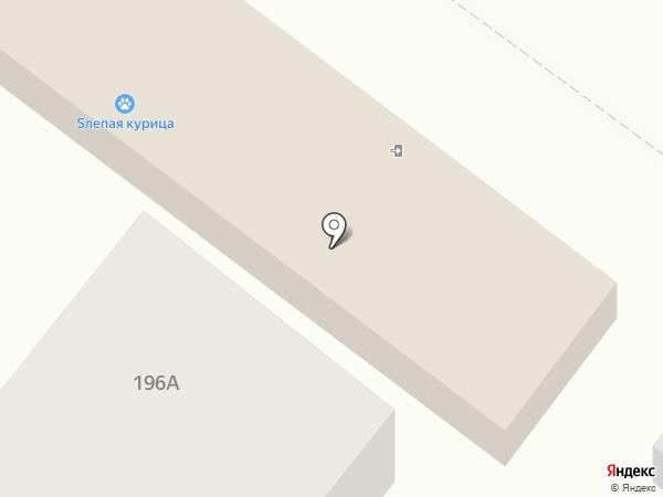 Автомоечный комплекс на карте Воронежа