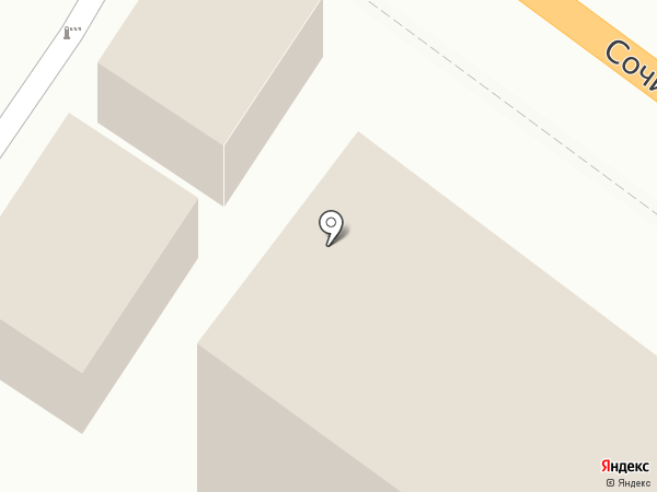 Туапсинская автошкола ДОСААФ России на карте Туапсе