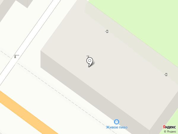 Магазин разливного пива на карте Туапсе