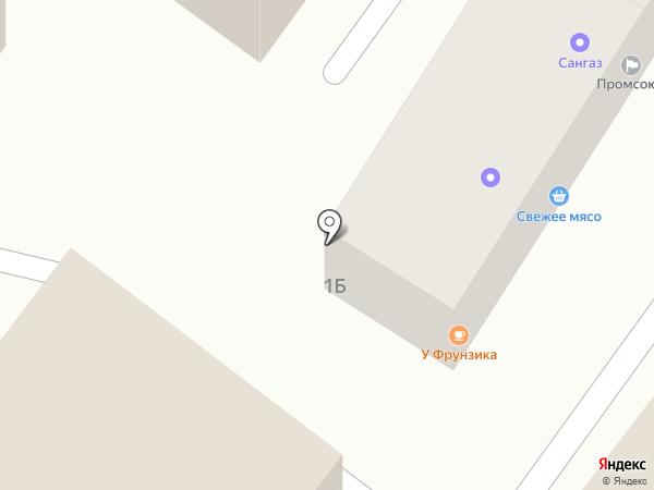 Изабель на карте Туапсе
