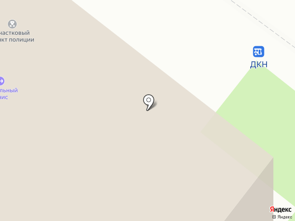 Участковый пункт полиции №5 на карте Туапсе