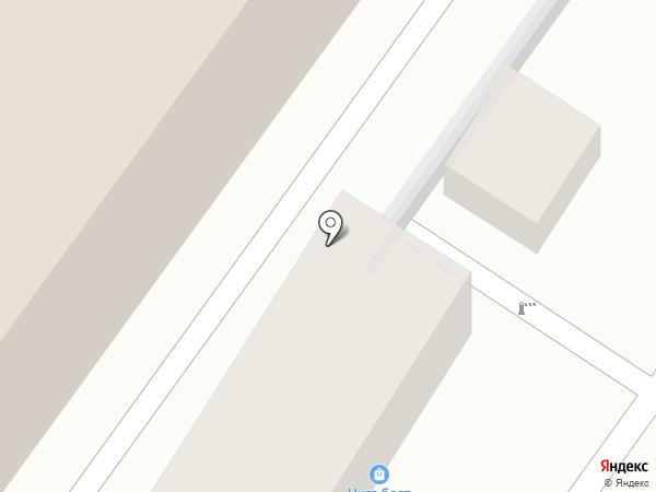 Сангаз на карте Туапсе