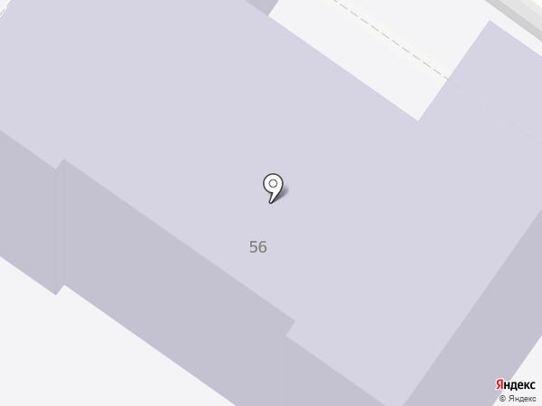 Детский сад №25 на карте Туапсе
