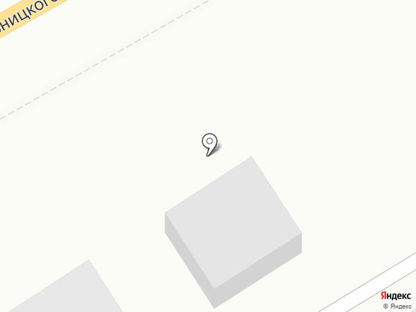 Монолит на карте Туапсе