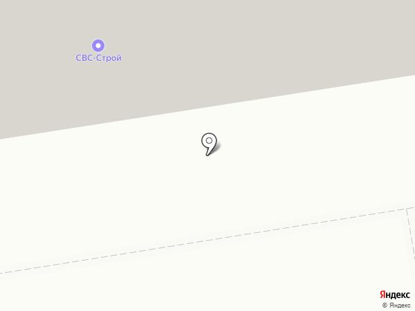 Бау-техно на карте Краснодара