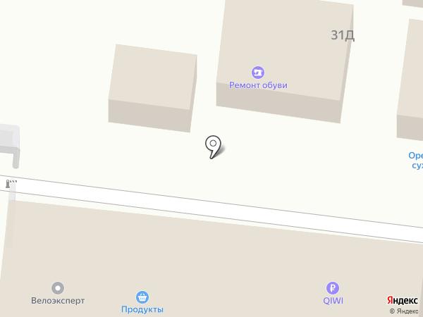 Киоск по продаже молочных продуктов на карте Воронежа
