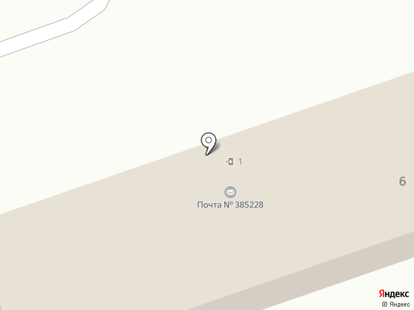 Почтовое отделение на карте Тлюстенхабля